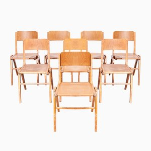 Vintage Dining Chairs from Casala, 1950s, Set of 8