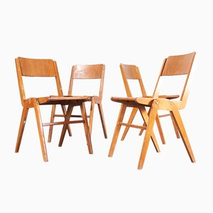 Vintage Dining Chairs from Casala, Set of 4, 1950s