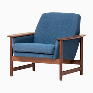Dutch Teak Easy Chair, 1960s
