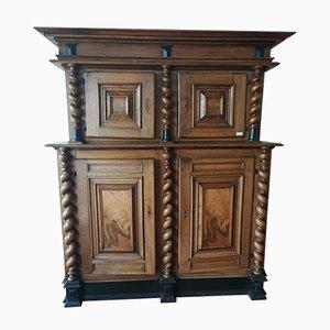 Mueble antiguo grande de dos piezas
