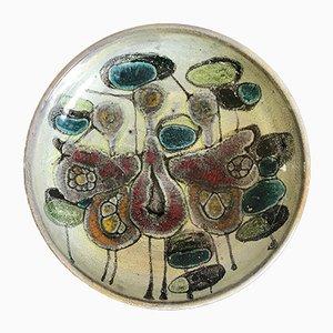 Centrotavola in ceramica di Lega Faenza, Italia, anni '60