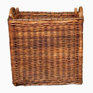 Vintage Industrial Basket