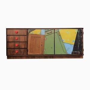 Mueble de colores, años 50