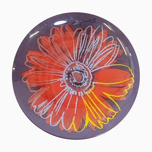 Andy Warhol Daisy Glass Bowl from Rosenthal Studio Line, 1980s