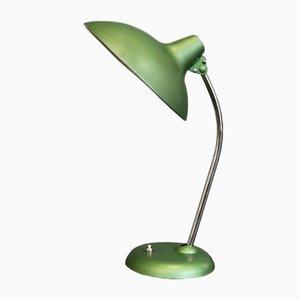 Grüne Mid-Century Modell 6786 Tischlampe von Kaiser Idell