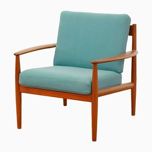 Model 118 Teak Armchair by Grete Jack for France & Søn, 1960s