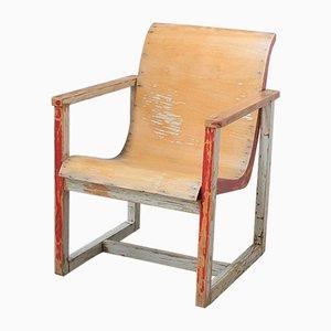 Sedia Bauhaus vintage in legno