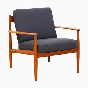 Modell 118 Armlehnstuhl aus Teak von Grete Jalk für France & Søn, 1960er