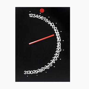 Meridiana Perpetual Calendar by Giulio Confalonieri for Studio Paolo Nava, 1978