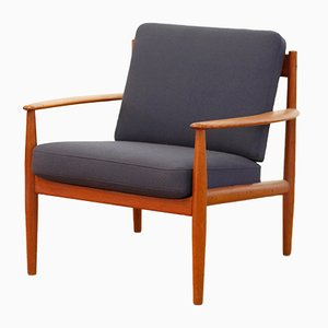 Model 118 Teak Armchair by Grete Jalk for France & Søn, 1960s