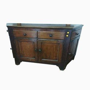 Antique Wooden Credenza