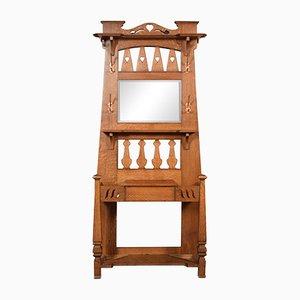 Mueble de recibidor vintage de roble de Liberty of London