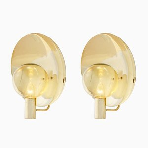 V180 Wall Lamps Hans Agne Jakobsson, 1960s, Set of 2