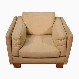 Vintage Sessel mit Stoffbezug