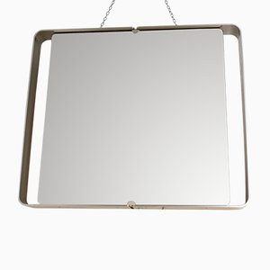 Specchio vintage retroilluminato di Rimadesio, anni '70