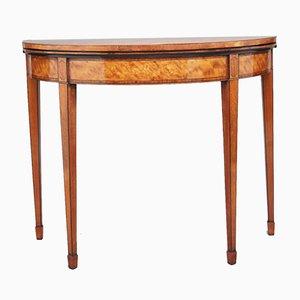 Tavolo da gioco in legno, XIX secolo