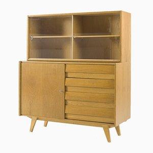 Vintage U-458 Bookcase Cabinet by Jiří Jiroutek for Interier Praha, 1960s