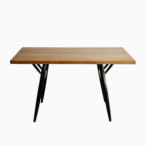 Mid-Century Pirkka Dining Table by Ilmari Tapiovaara for Laukaan Puu