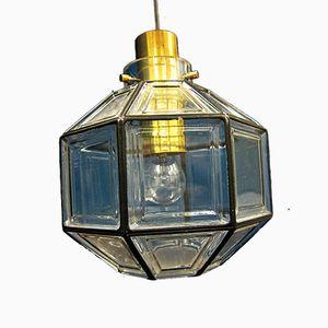 Deutsche Vintage Deckenlampe von Limburg