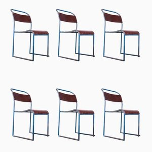 Dining Chairs from PEL, 1940s, Set of 6