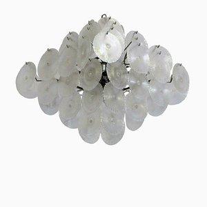Lámpara de araña italiana de Mazzega, años 60