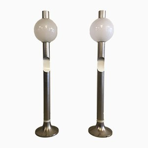 Italian Floor Lamps from Esperia, 1970s, Set of 2