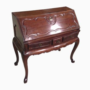 Antique Spanish Mahogany Secretaire