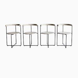 Deutsche Vintage Esszimmerstühle von Kusch+Co, 4er Set