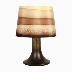 Lámpara de mesa grande de Peill & Putzler, años 80