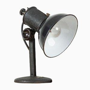 Steel Table Lamp, 1930's