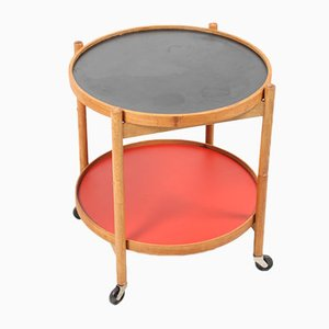 Tavolino in quercia di Hans Bølling per Torben Ørskov, anni '60