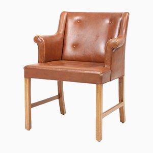 Dänischer Sessel von Ole Wanscher für AJ Iversen, 1960er