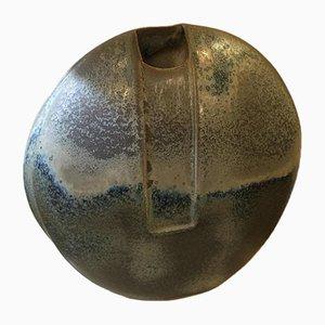 Jarrón modernista de cerámica, años 50