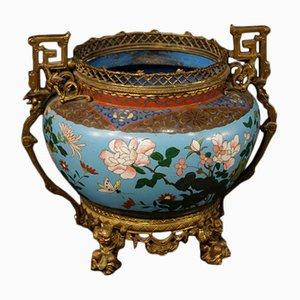 19th-Century French Gilded Bronze Vase