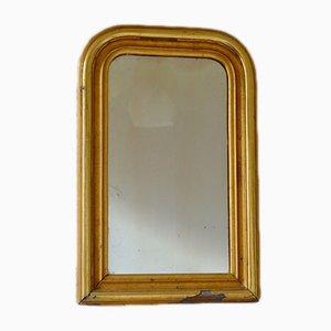Antiker Spiegel mit goldenem Rahmen