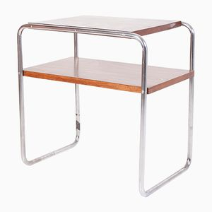 Table Console en Chrome Tubulaire par Marcel Breuer pour Kovona Karvina, 1940s