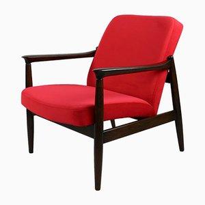 Roter Vintage Jade Sessel von Edmund Homa, 1970er