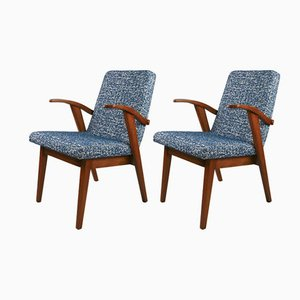 Vintage Easy Chairs by Mieczyslaw Puchala, 1970s, Set of 2