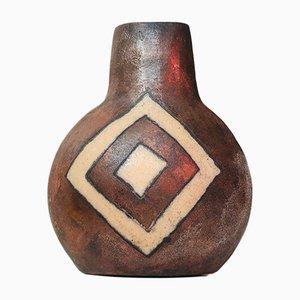 Dänische Keramikvase von Kirsten Jæger, 2008