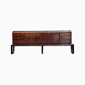 Large Art Deco Sideboard from Fratelli Santambrogio, 1940s
