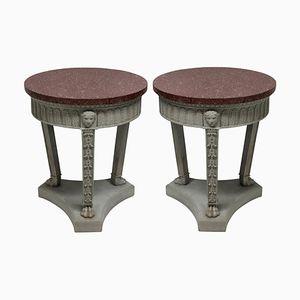 Tables Néo-Classiques, 1950s, Set de 2