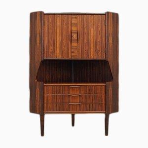 Vintage Rosewood Corner Cabinet from Omann Jun, 1970s