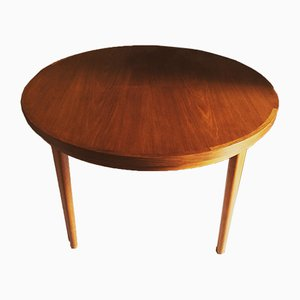 Flip-Flap Lotus Teak Dining Table from Dyrlund, 1970s