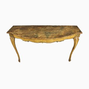 19th Century Venetian Lacquered Console