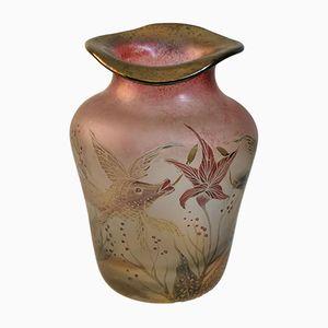 Art Nouveau Vase by Ferdinand von Poschinger, 1900s