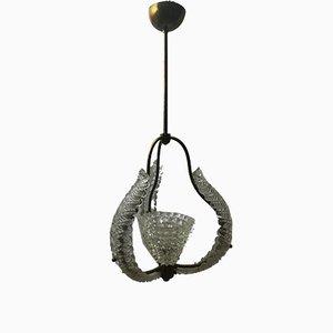 Lampada da soffitto vintage di Barovier & Toso, anni '50