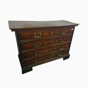 Antique Chest of Drawers with Bronze Handles