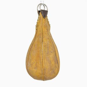 Vintage Leather Punching Bag, 1920s