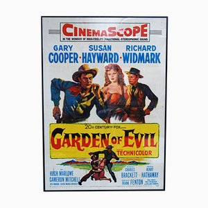 Garden of Evil US Film Poster, 1954