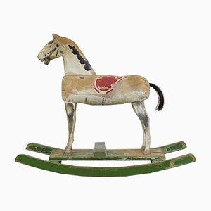 Cavallino a dondolo vintage, anni '40